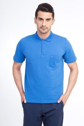 Erkek Giyim - Mavi M Beden Regular Fit Polo Yaka Tişört