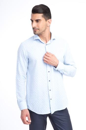Erkek Giyim - Uzun Kol Ekose Gömlek