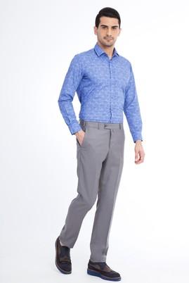 Erkek Giyim - Açık Gri 50 Beden Klasik Pantolon