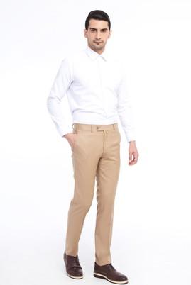 Erkek Giyim - TABA 48 Beden Slim Fit Yünlü Klasik Pantolon