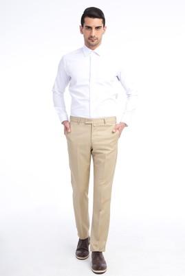 Erkek Giyim - Kum 52 Beden Klasik Pantolon