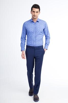 Erkek Giyim - KOYU MAVİ 58 Beden Klasik Pantolon