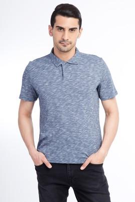 Erkek Giyim - Lacivert L Beden Regular Fit Polo Yaka Tişört