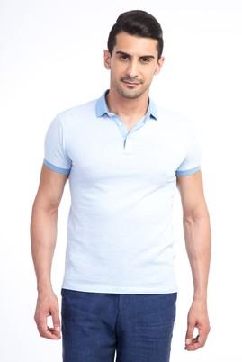 Erkek Giyim - Mavi XS Beden Polo Yaka Slim Fit Tişört