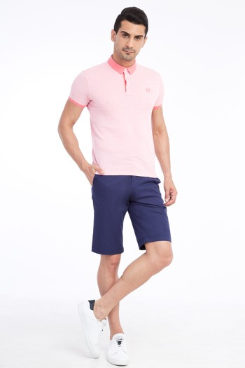Erkek Giyim - Desenli Bermuda