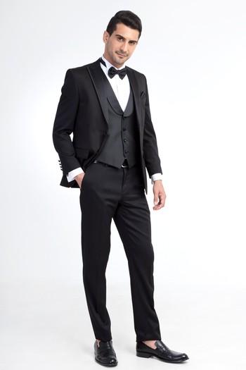 Erkek Giyim - Sivri Yaka Smokin / Damatlık