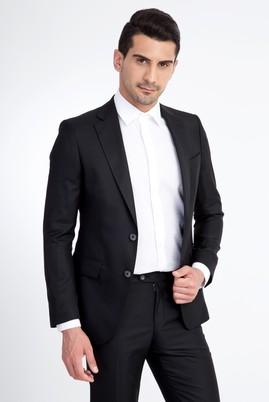 Erkek Giyim - Siyah 58 Beden Blazer Ceket
