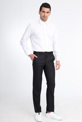 Erkek Giyim - Siyah 52 Beden Klasik Pantolon