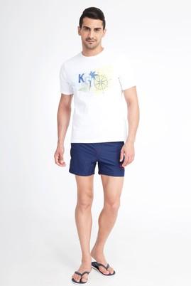 Erkek Giyim - Lacivert 50 Beden Deniz Şortu