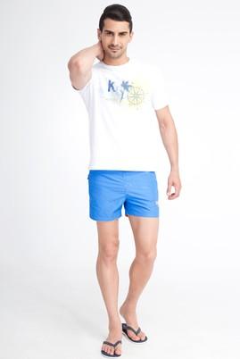 Erkek Giyim - Mavi 48 Beden Deniz Şortu