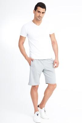 Erkek Giyim - Orta füme XXL Beden Spor Sweat Şort