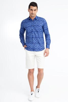Erkek Giyim - Krem 56 Beden Spor Bermuda Şort