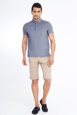 Erkek Giyim - VİZON 48 Beden Desenli Bermuda Şort