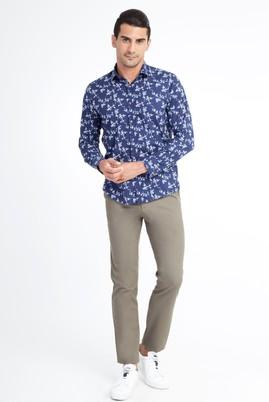 Erkek Giyim - HAKİ 56 Beden Desenli Spor Pantolon