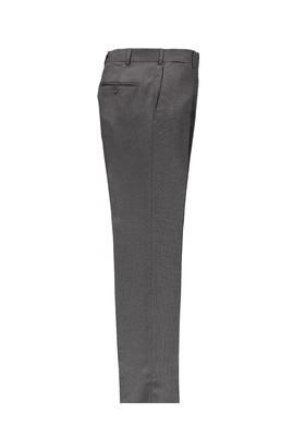 Erkek Giyim - Füme Gri 46 Beden Slim Fit Kuşgözü Klasik Pantolon