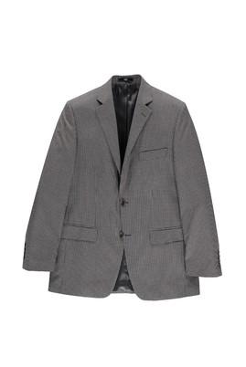 Erkek Giyim - Füme Gri 56 Beden Kuşgözü Ceket