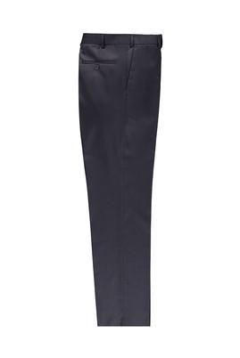 Erkek Giyim - Lacivert 50 Beden Kuşgözü Klasik Pantolon