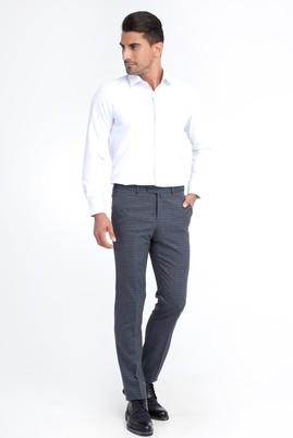 Erkek Giyim - Marengo 56 Beden Ekose Klasik Pantolon