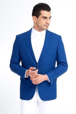 Erkek Giyim - Mavi 56 Beden İtalyan Kuşgözü Ceket