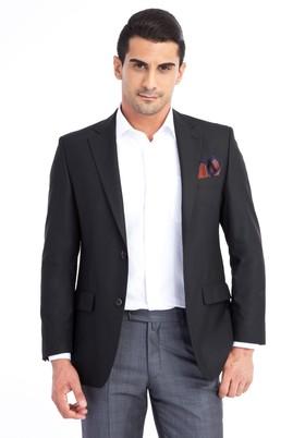 Erkek Giyim - Siyah 50 Beden Blazer Ceket