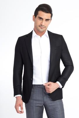 Erkek Giyim - SİYAH 60 Beden Kuşgözü Ceket