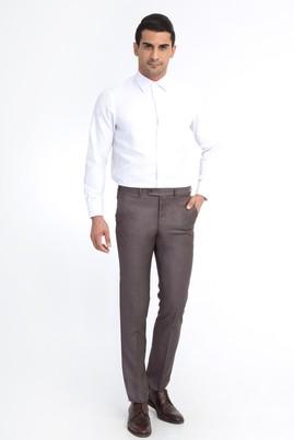 Erkek Giyim - Kahve 60 Beden Klasik Pantolon