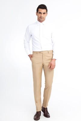 Erkek Giyim - Bej 48 Beden Klasik Pantolon