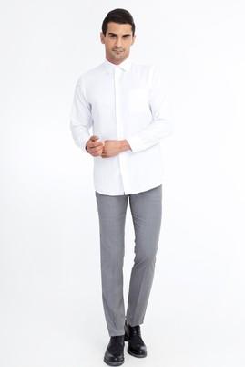 Erkek Giyim - Açık Gri 54 Beden Klasik Pantolon