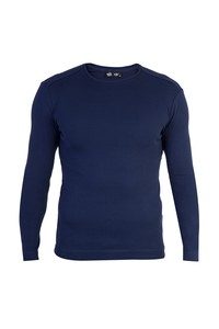 Erkek Giyim - Bisiklet Yaka Slim Fit Sweatshirt