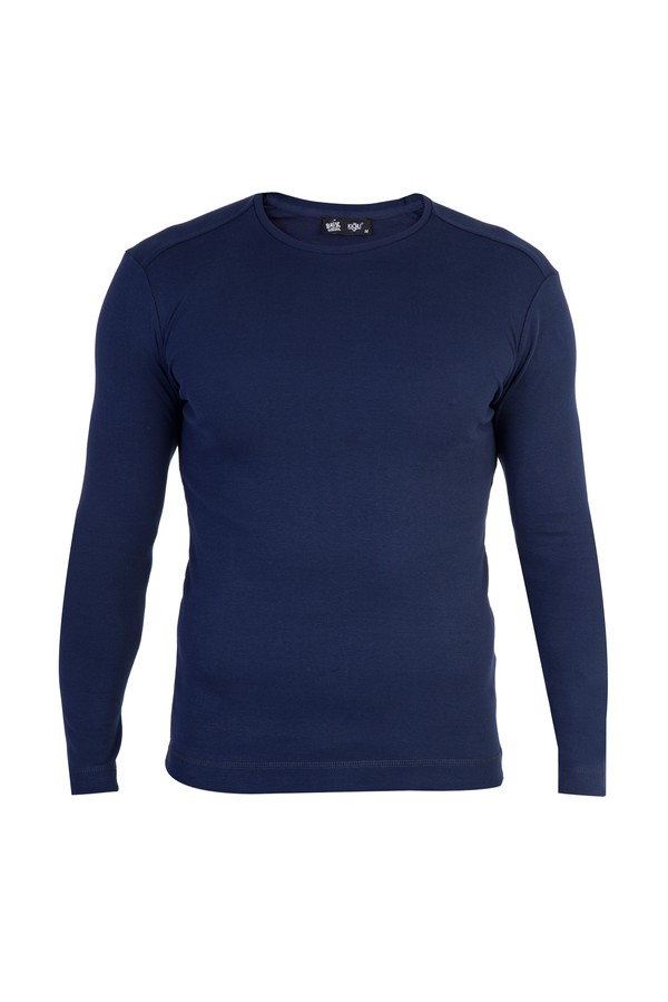Bisiklet Yaka Slim Fit Sweatshirt