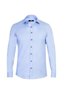 Erkek Giyim - Mavi M Beden Uzun Kol Süper Slim Fit Gömlek