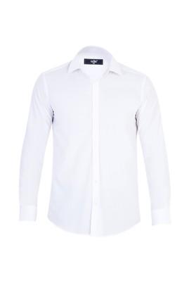 Erkek Giyim - Beyaz XS Beden Uzun Kol Süper Slim Fit Gömlek