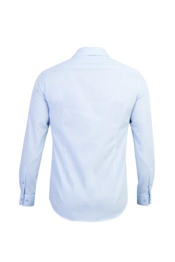 Erkek Giyim - Uzun Kol Süper Slim Fit Gömlek