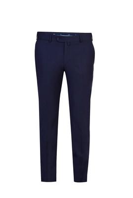 Erkek Giyim - Lacivert 42 Beden Slim Fit Klasik Pantolon