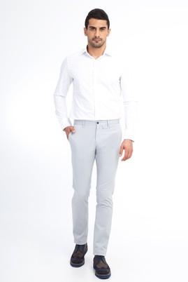 Erkek Giyim - Açık Gri 50 Beden Slim Fit Spor Pantolon