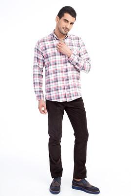 Erkek Giyim - KOYU KAHVE 58 Beden Kadife Pantolon