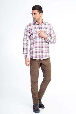 Erkek Giyim - VİZON 58 Beden Kadife Pantolon