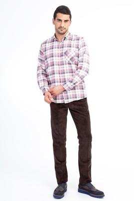 Erkek Giyim - KOYU KAHVE 54 Beden Kadife Pantolon