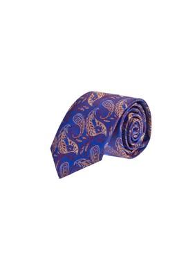 Erkek Giyim - Mavi  Beden Desenli Kravat
