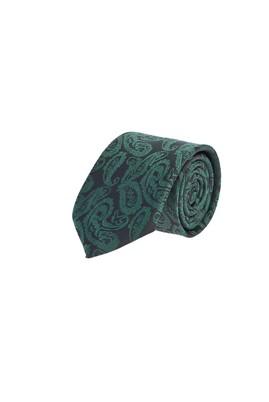 Erkek Giyim - KOYU YESİL  Beden Desenli Kravat