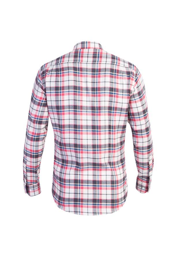 Uzun Kol Oduncu Ekose Gömlek