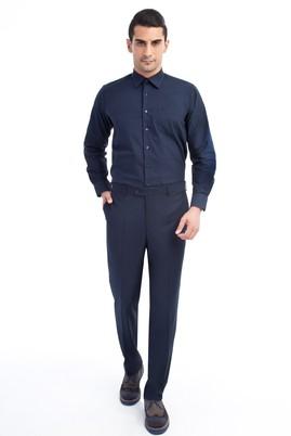 Erkek Giyim - LACİVERT 56 Beden Klasik Pantolon