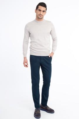 Erkek Giyim - Petrol 48 Beden Kuşgözü Spor Pantolon