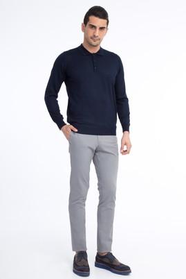 Erkek Giyim - Orta füme 50 Beden Slim Fit Spor Pantolon