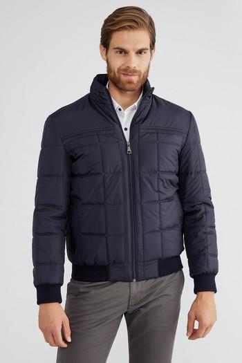 Erkek Giyim - Bonded Ribanalı Mont