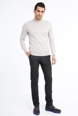 Erkek Giyim - HAKİ 48 Beden Desenli Spor Pantolon