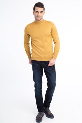 Erkek Giyim - Lacivert 52 Beden Denim Pantolon