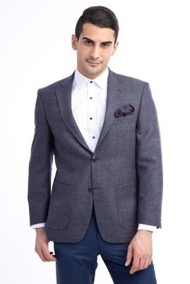 Erkek Giyim - Füme Gri 64 Beden Kuşgözü Ceket