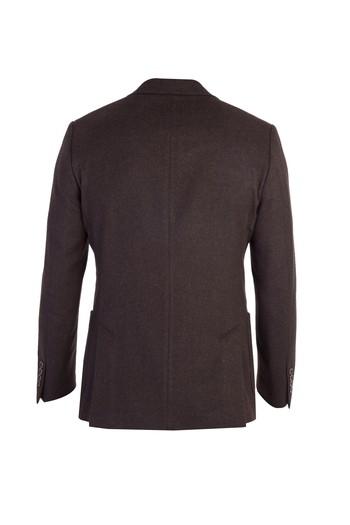 Erkek Giyim - Yünlü Blazer Ceket