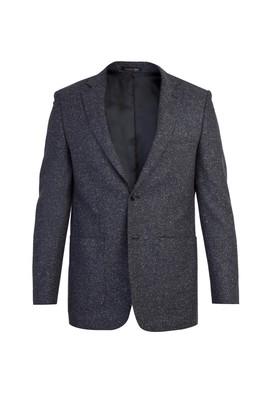 Erkek Giyim - Siyah 52 Beden Kuşgözü Ceket